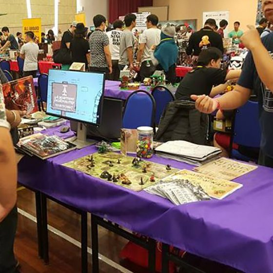 March 2016 | RPG Demos at Geek Con Malaysia
