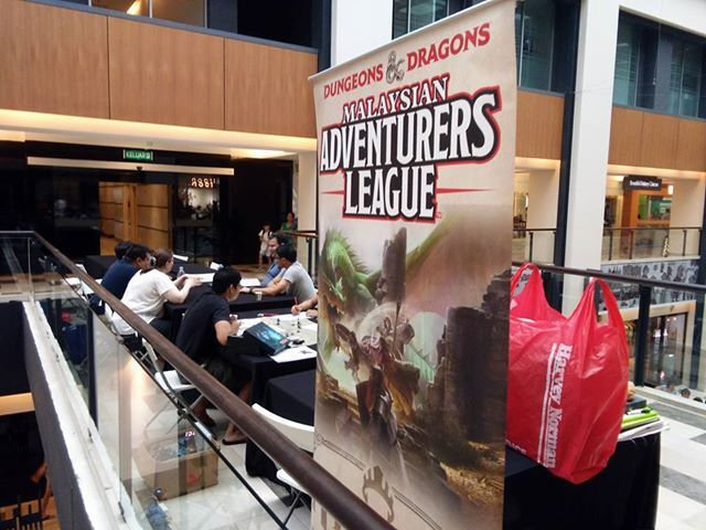 D&D Adventurers League Publika RPG Role Over Play Dead