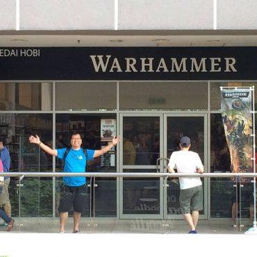 Sept 2016 | Warhammer, Publika Launch