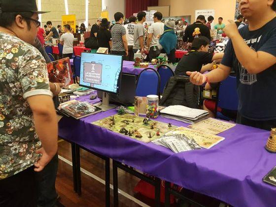 Demos at Geek Con Malaysia