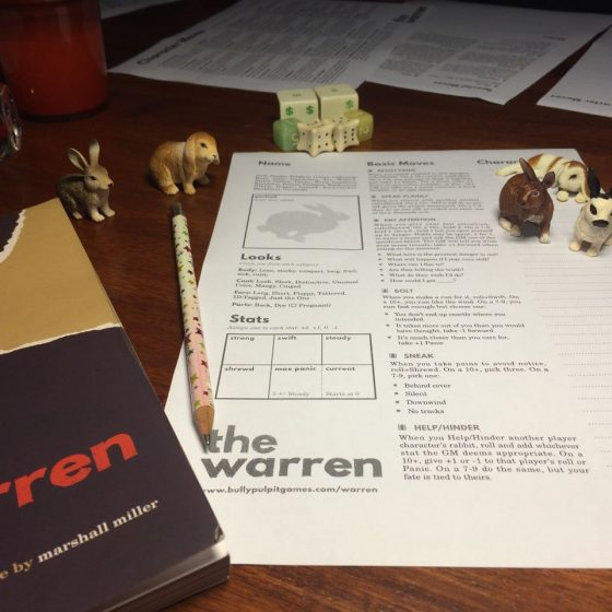 RPG Review : The Warren (2015)