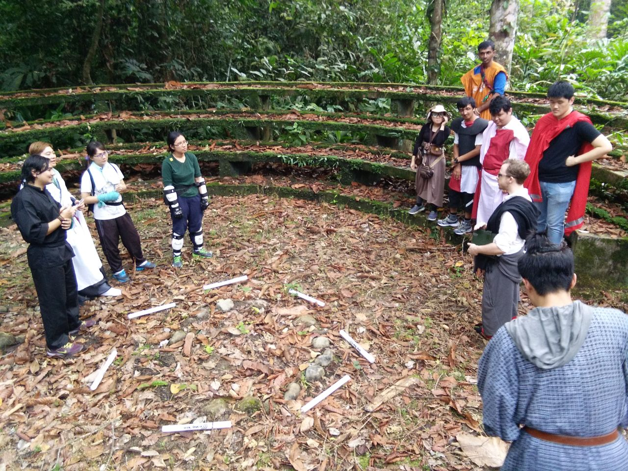 Maelstrom LARP, RPG Role Over Play Dead