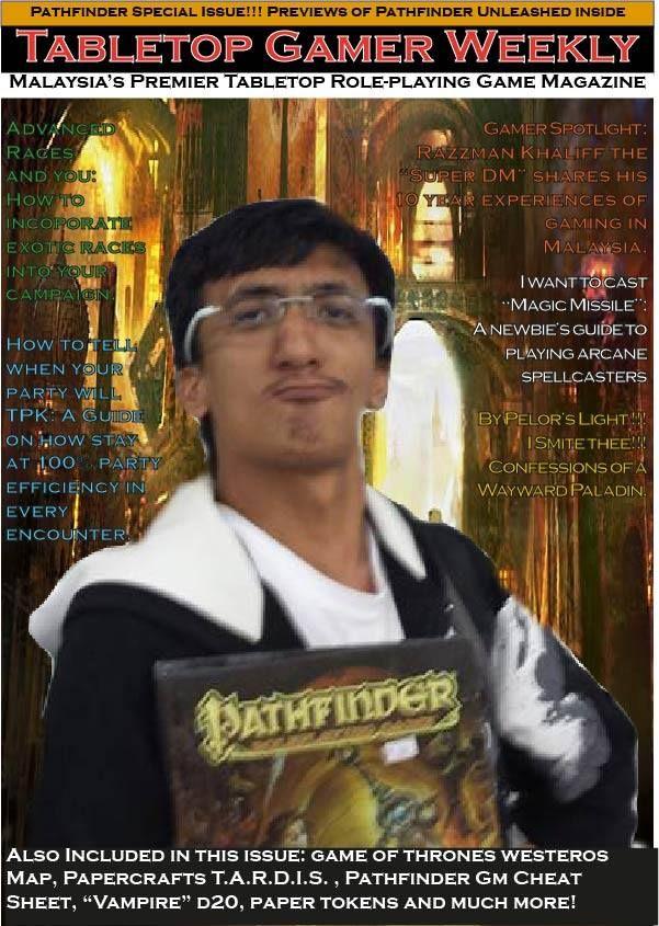 Razzman Khaliff Pathfinder RPG Game master