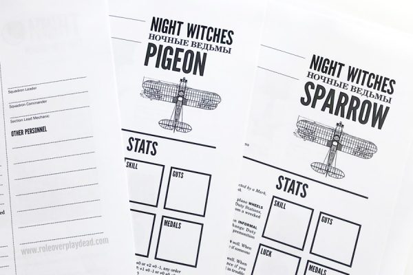 Rpg Review Night Witches 2015 Role Over Play Dead