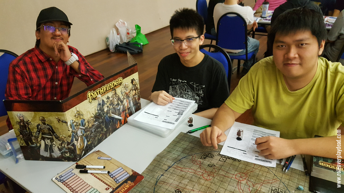 Find out more at Pathfinder / Starfinder Society Malaysia.