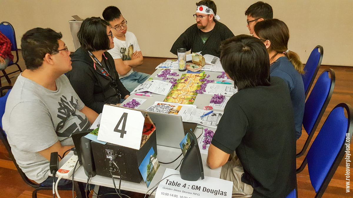 GM Doug, undeniably one of the more enigmatic, entertaining and charismatic among us GMs & DMs at RPGMY - RolePlaying Gamers of Malaysia.
