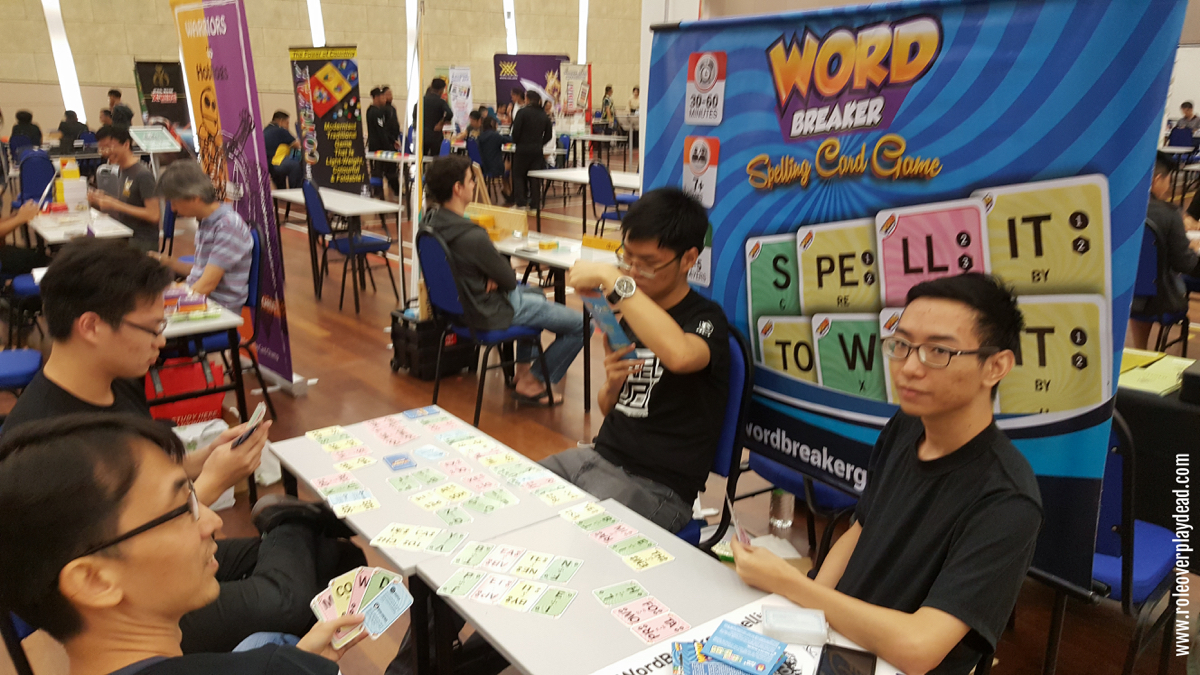Local educational card game, WordBreaker Spelling Card Game. Do LIKE and follow them on Facebook!