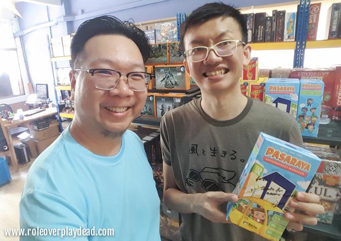 Pasaraya Supermarket Manager Cardgame Felix Leong