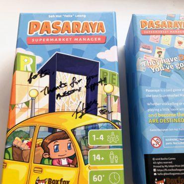 Cardgame Review : Pasaraya (2018)