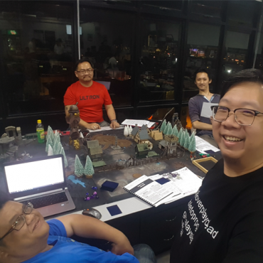 October 2018 | Savage Worlds : From Dusk Till Dawn with GM Marvin