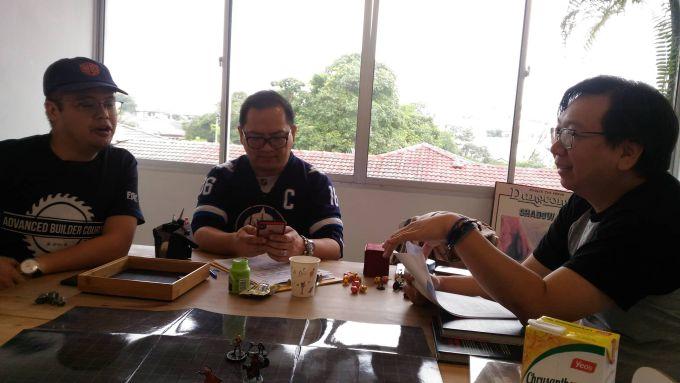 Han Lim and Kai bantering